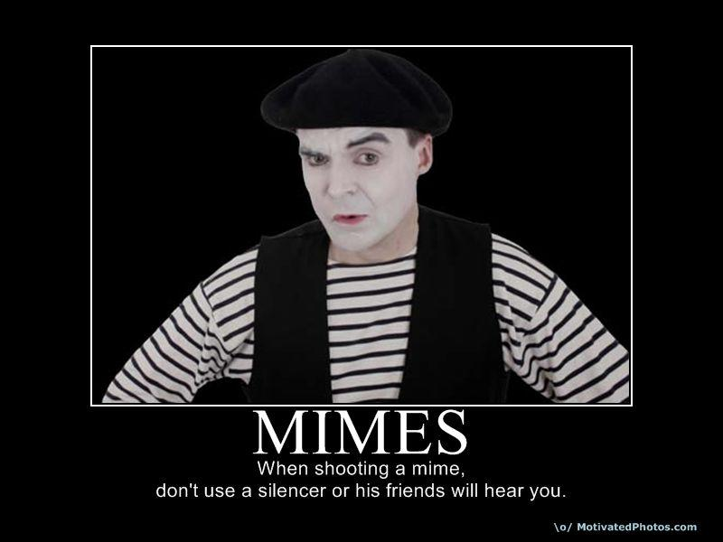 Mimes having sex