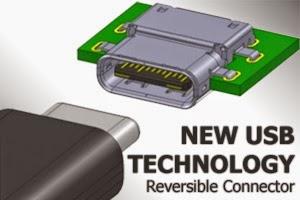 Teknologi Konektor USB Baru dapat Dipasang Bolak-balik
