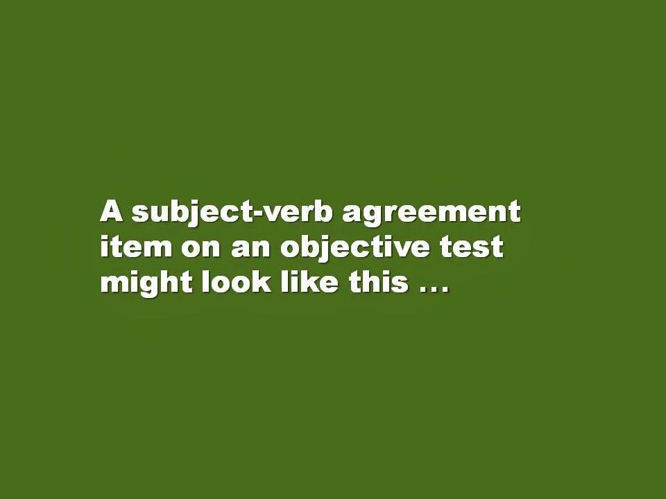 Waz Subject Verb Agreement Teaching Aids