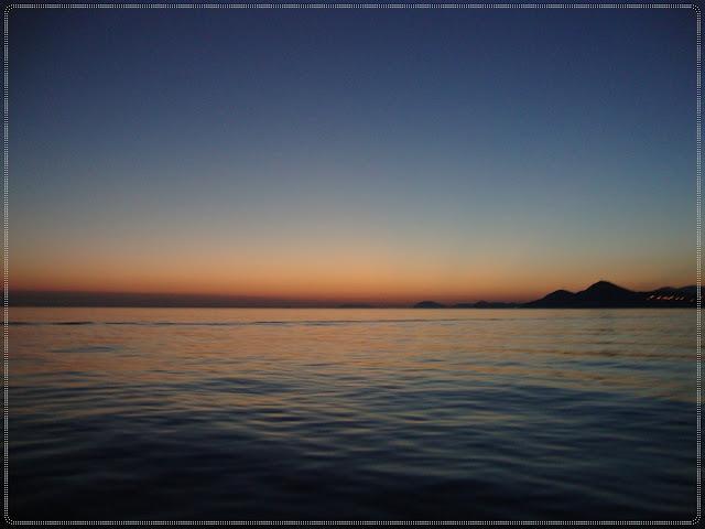 zalazak sunca na moru