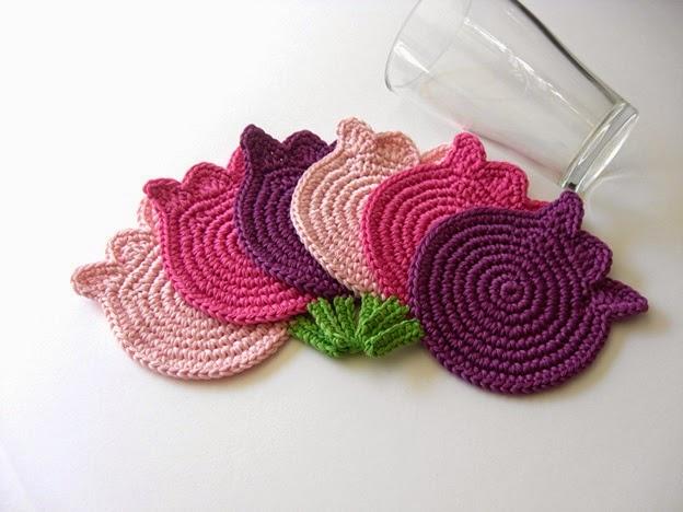 Posa vasos coaster crochet ideas crochet desde el tabo - Ideas para hacer ganchillo ...