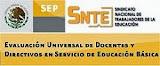 Evaluación Universal 2013