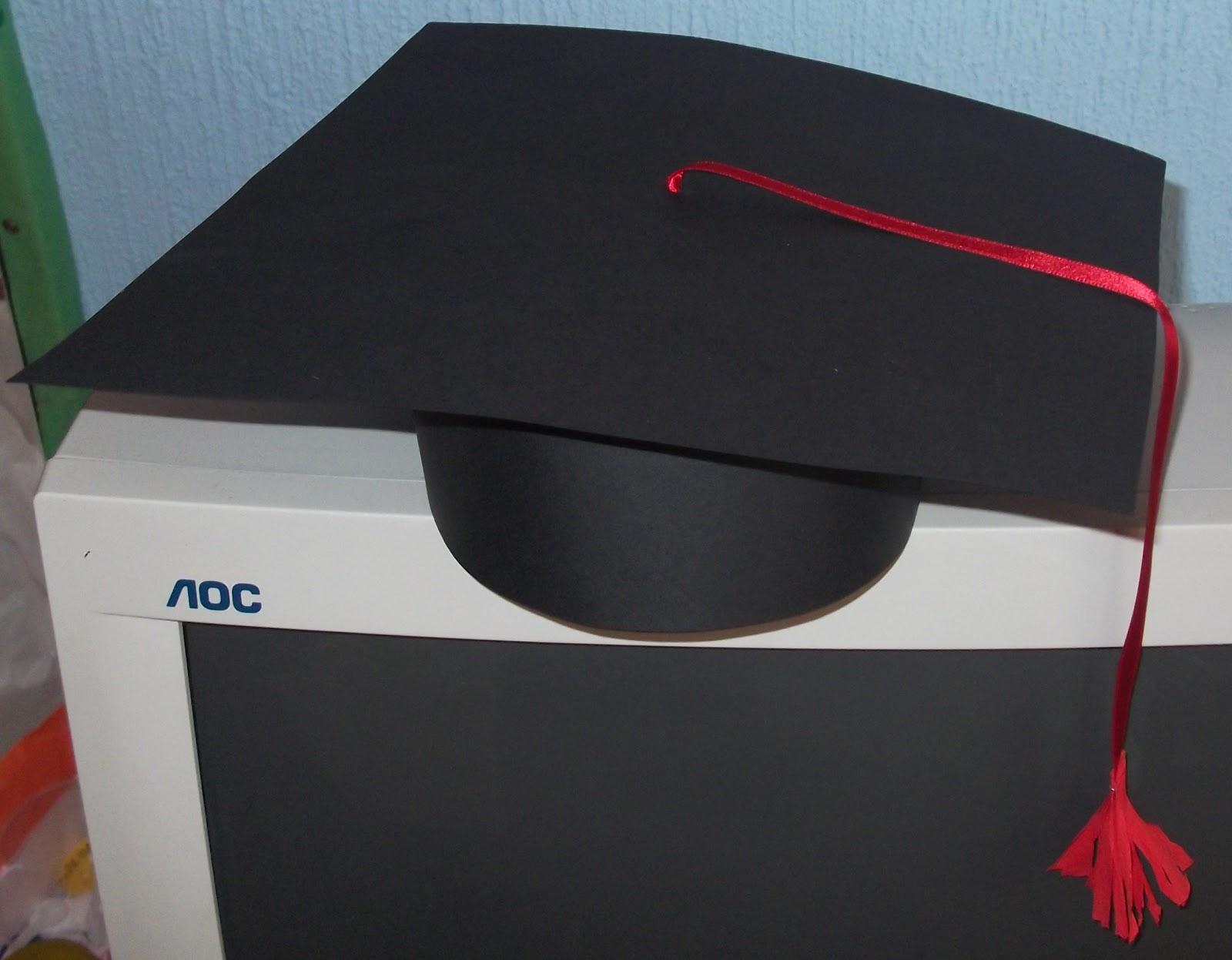 Como Hacer Un Gorro De Graduacion