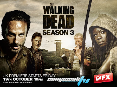 The Walking Dead Temporada 3 HDTV Subtitulos Español Latino Descargar 2012