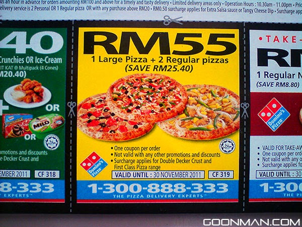 Dominos discount coupons november 2019