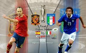 RCTI Live Streaming Online Spanyol vs Italia Nonton Final Euro 2012
