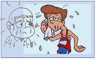 Gb. Cara Menghilangkan Keringat Berlebih - Hiperhidrosis