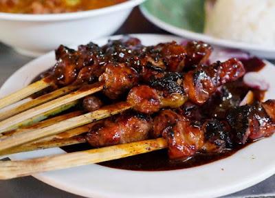 Resep membuat Sate Sapi Empuk Bumbu Kecap Sederhana