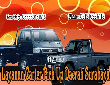 Layanan Carter Pick Up Daerah Surabaya