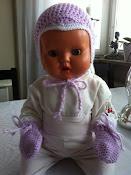 Min virkade fantomenmössa baby