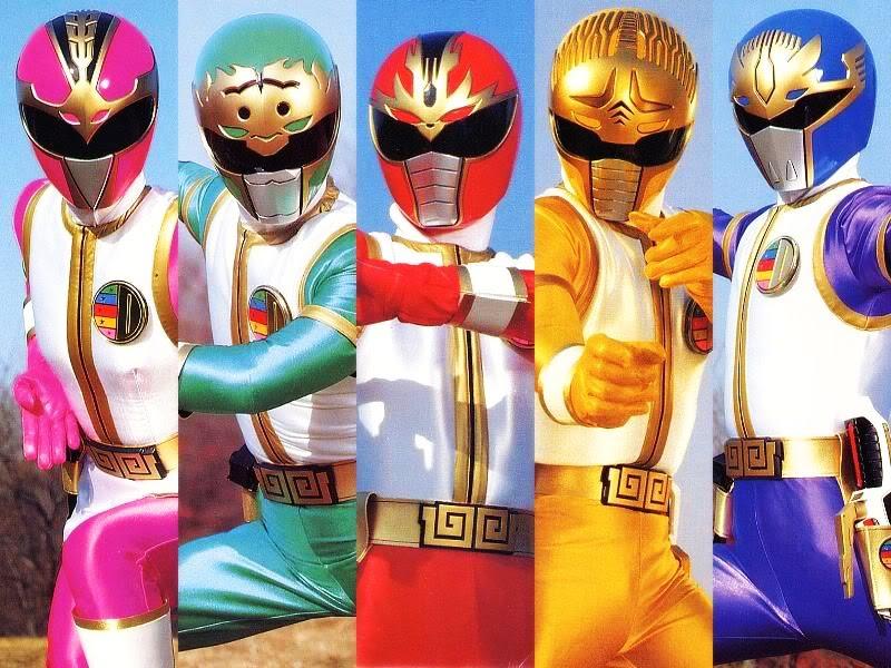 Seri lengkap semua power ranger dari masa ke masa jurnal alien gosei sentai dairanger jpn mighty morphin power rangers 2 usa star ranger ina voltagebd Images