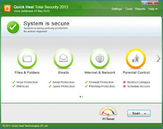 Quick Heal Total Security 2013 Full With Crack