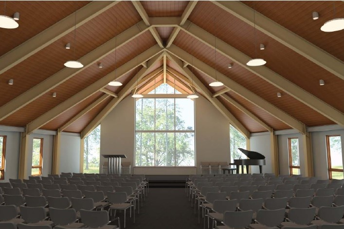 Sanctuary Rendering with Piano
