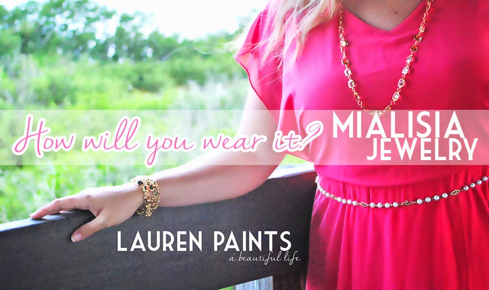 How will you wear it? Learn more about Mialisia Jewelry and enter to win!