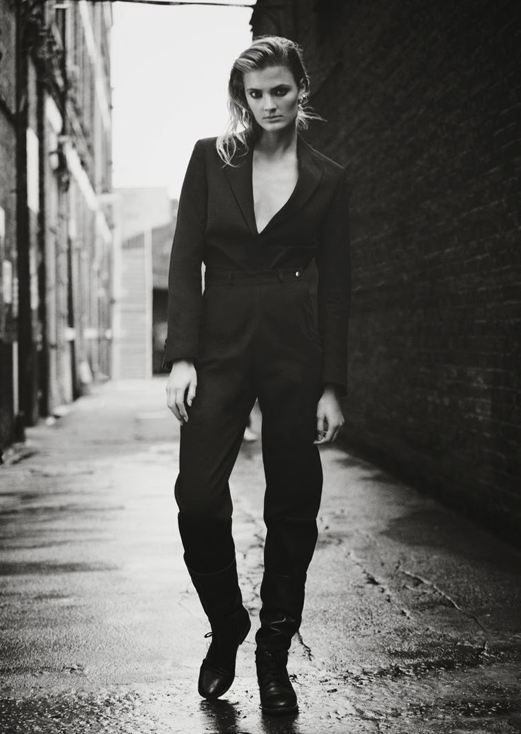 Constance Jablonski for Twin magazine photographed by Nick Dorey, styled by Naomi Miller