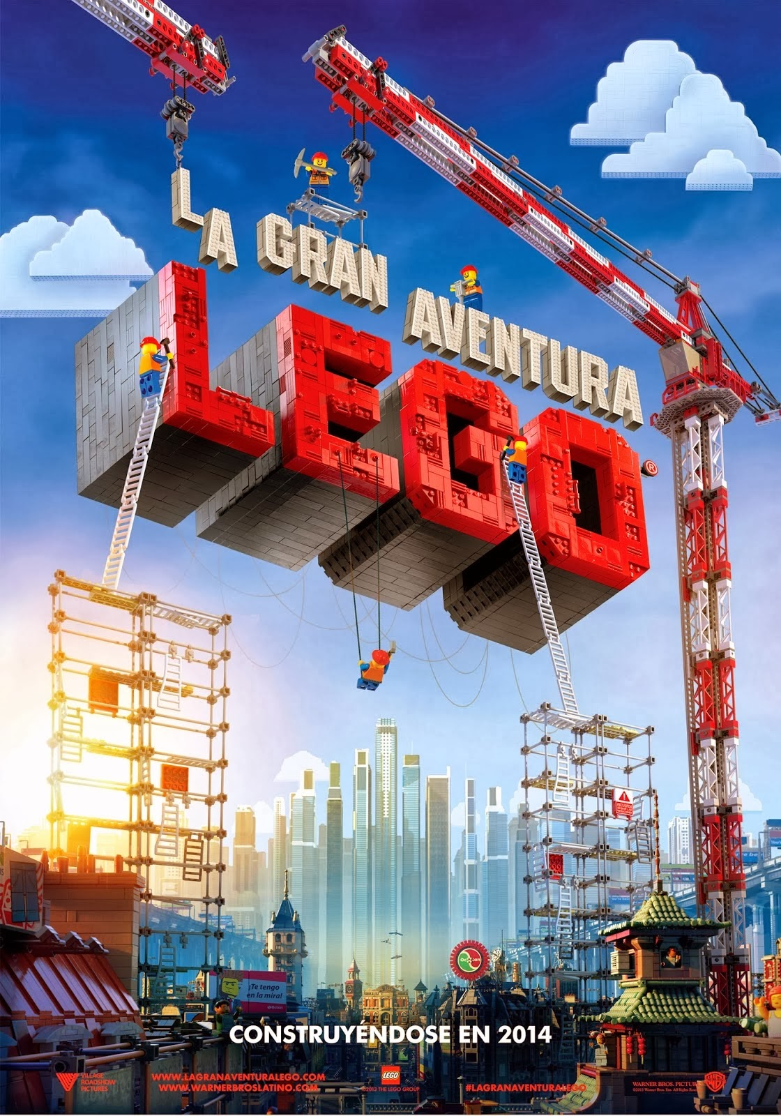 Poster de La Gran Aventura Lego