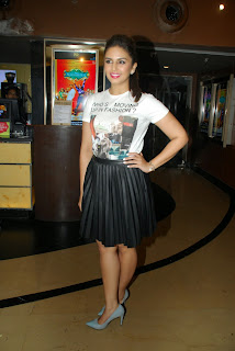 Huma Qureshi in Mini Skirt at Ayushmann Khurrana New Single Mitti Di Khushboo Launch In Mumbai