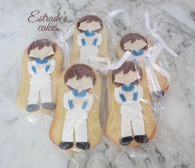 galletas de niño de Comunión 4