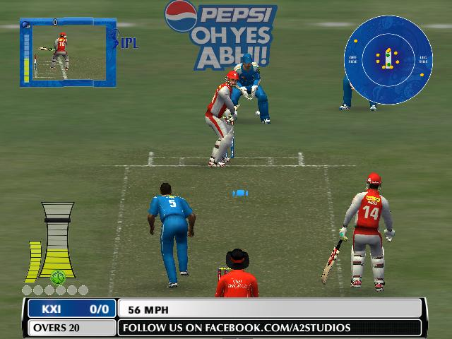 New Pepsi Ipl6 t20 Patch for ea cricket 07