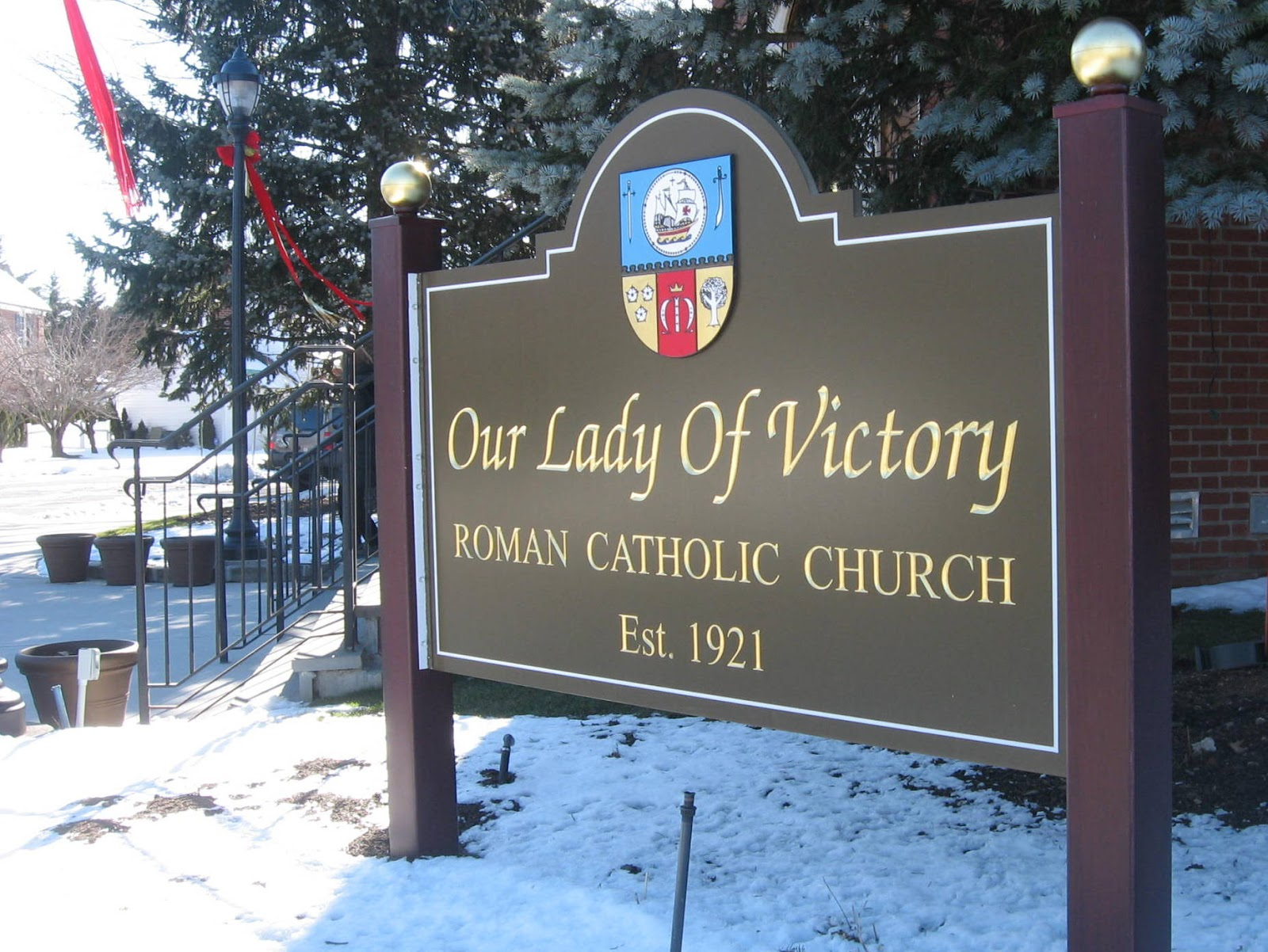 nassau county n y  catholic  our lady of victory  floral park