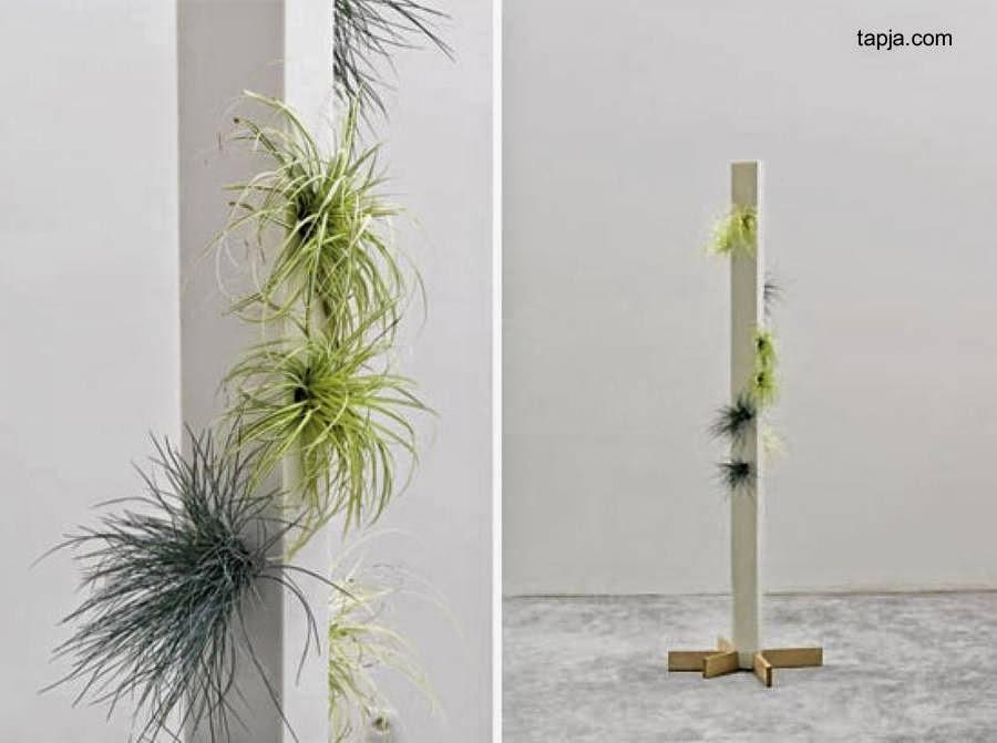 Poste con plantas decorativas para interior