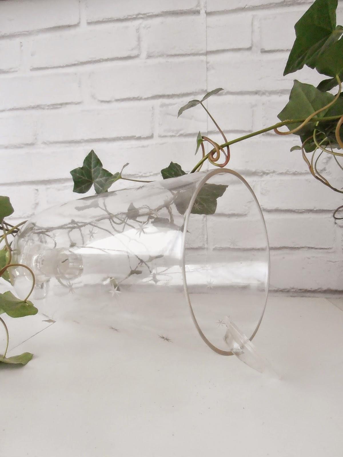 Diy olaimar reciclar un candelabro de cristal