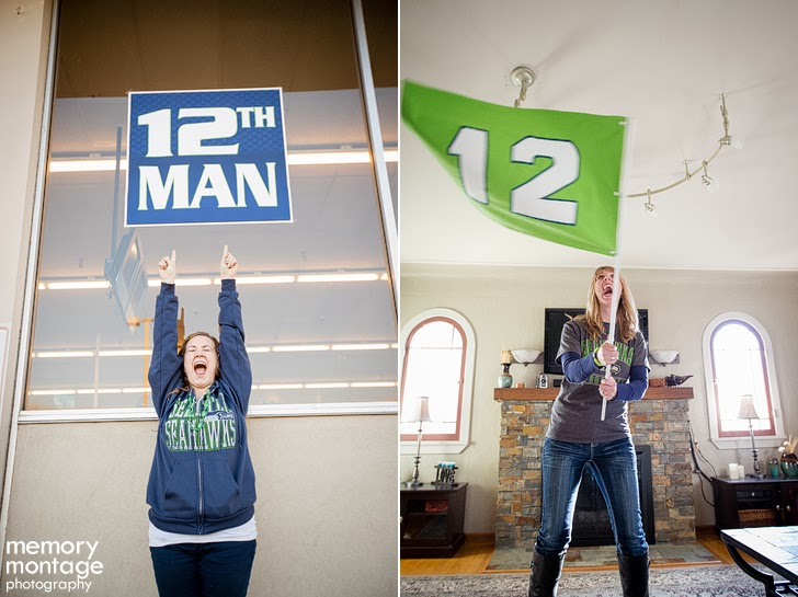 Seattle Seahawks fans in Yakima WA