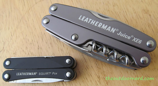 Leatherman Squirt PS4 Multi-Tool With Leatherman Juice Xe6