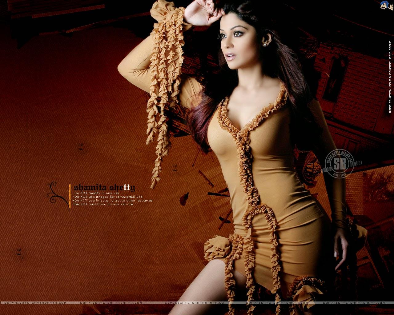 Koleksi Foto Shamita Shetty Terseksi 11
