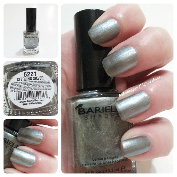 Barielle Sterling Silver Swatch