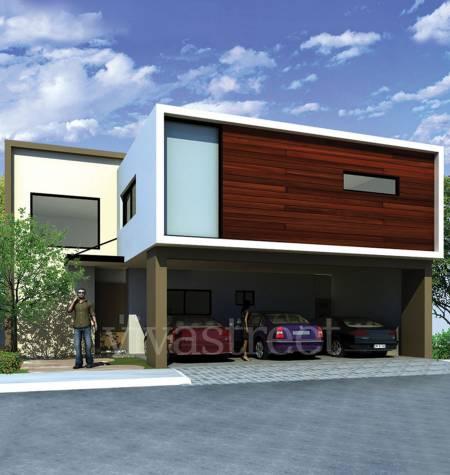 Decoraci n minimalista y contempor nea m s fachadas for Frentes de casas minimalistas