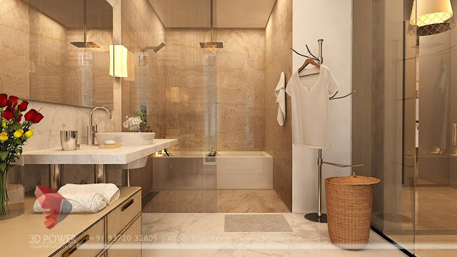 contemporary design bathroom