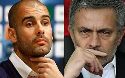 Mourinho and Guardiola