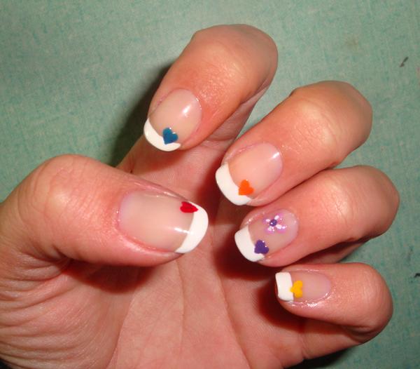 MI TIEMPO LIBRE: Diseño de uñas para San valentín III