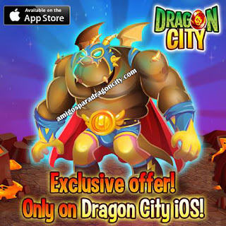 imagen de la oferta del dragon uchador de dragon city ios