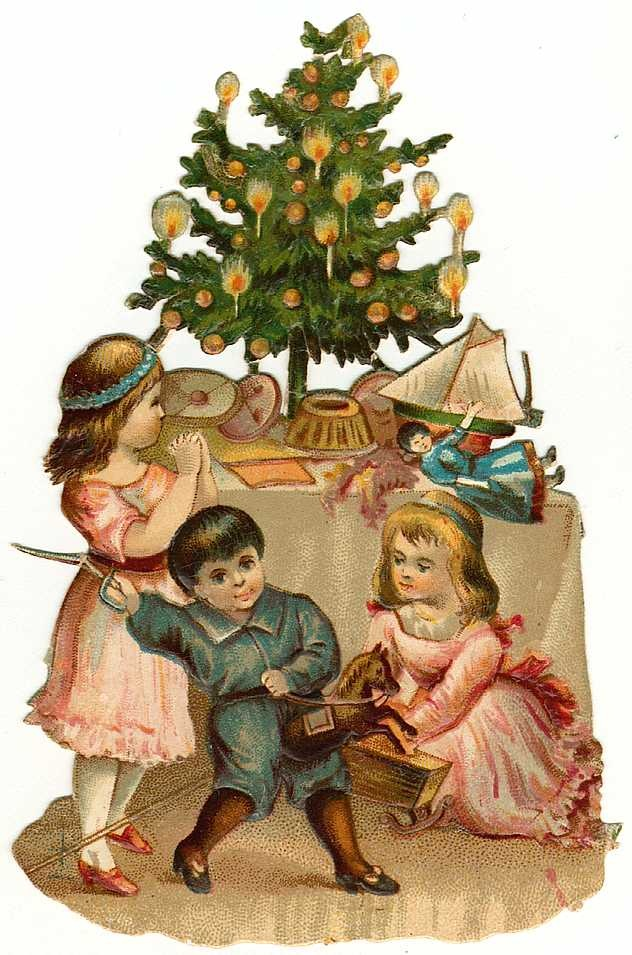Old Fashioned Christmas Clipart | quotes.lol-rofl.com