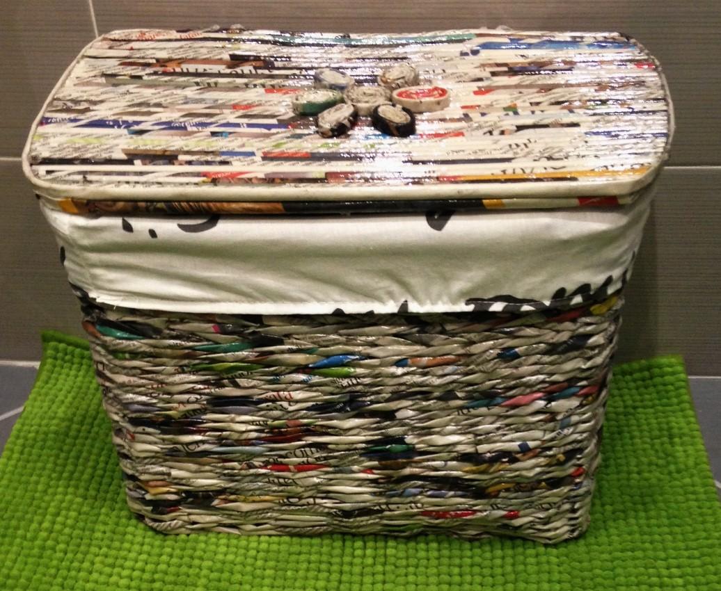 cestino cestino cesto porta oggetti per bagno