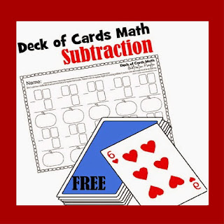 deck of cards subtraction
