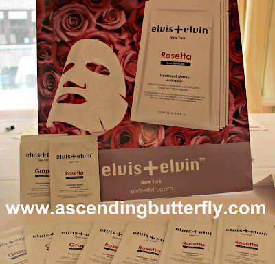 elvis+elvin Treatment Masks at BeautyPress Spotlight Day September 2015