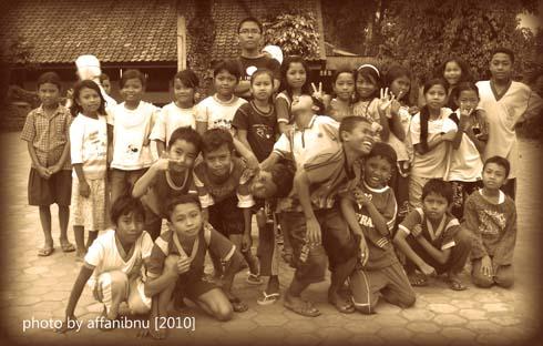 Anak - Anak desa Lombok