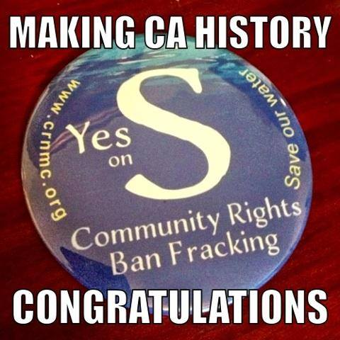 Voters approve fracking bans in San Benito and Mendocino Counties