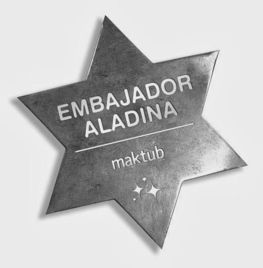 Somos EMBAJADORAS ALADINA