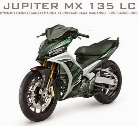 modifikasi Yamaha Jupiter MX 135 futuristik