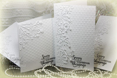 Our Daily Bread Designs Stamps - Snowflake Sentiments