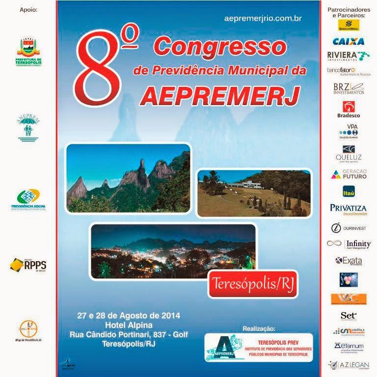 8º Congresso de Previdência Municipal da AEPREMERJ em Teresópolis