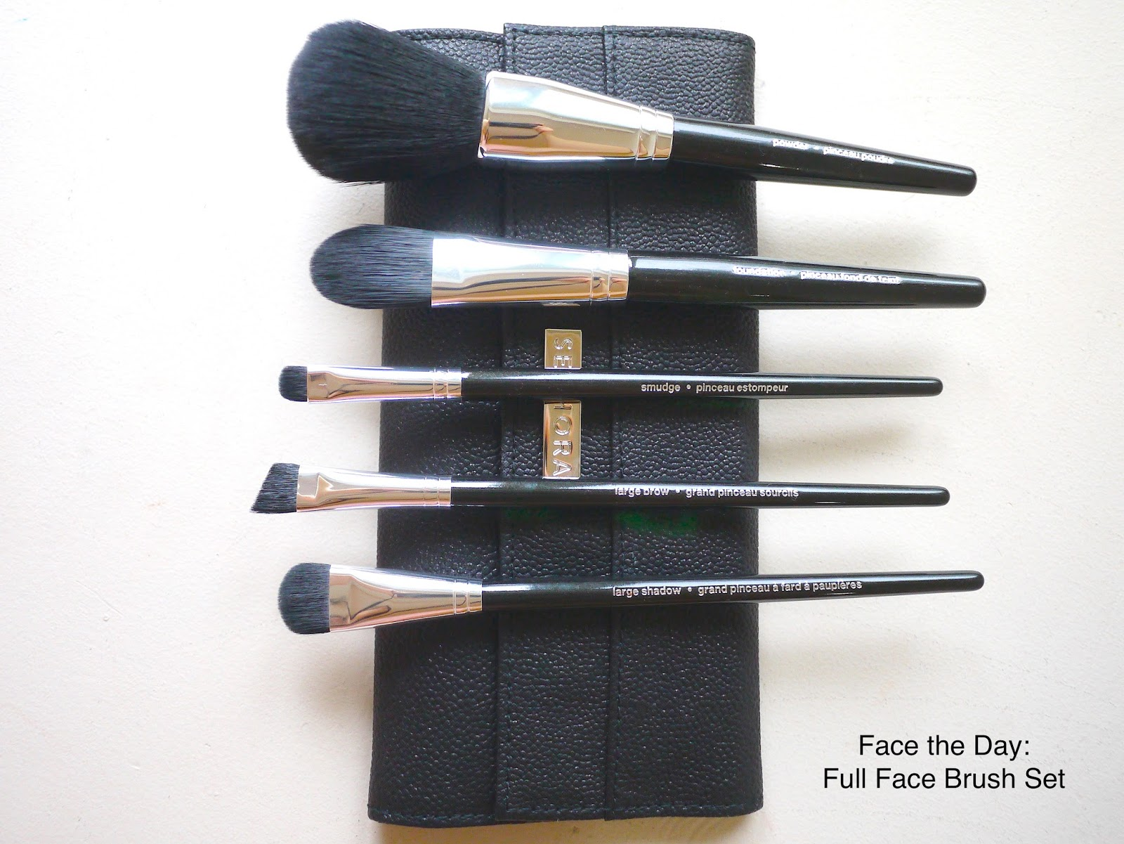 Sephora Face the Day: Full Face Brush Set review