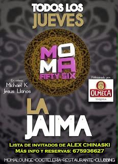 MOMA Fifty Six Jueves 10 de octubre