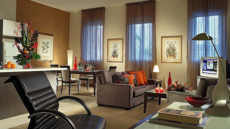 Interior Cozy living room