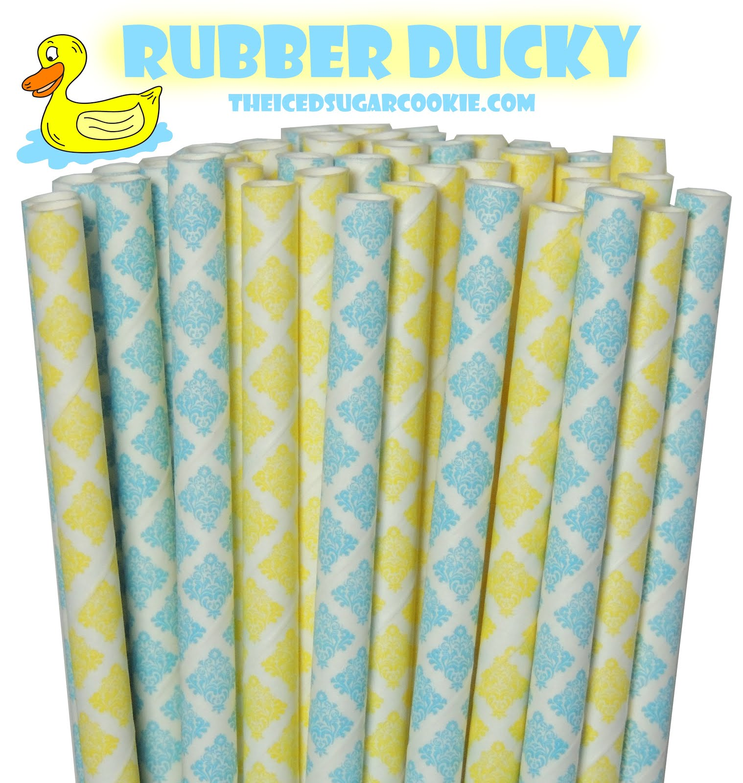 Rubber Ducky Paper Straws