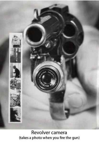 kamera pistol